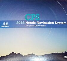 2012 Update 2007 to 2011 Honda CRV Fit Element Insight Hybrid Navigation DVD Map