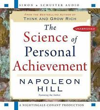 The Science of Personal Achievement Napoleon Hill 2008 CD 9780743578738 NEW