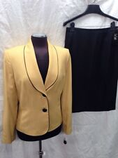"""LESUIT SKIRT SUIT/LINED/NEW WITH TAG/RETAIL$200/SIZE 14/SKIRT LENGTH 25"""":"""