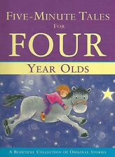 Five Minute Tales For Four Year Olds Original BedTime Stories HC Childrens Book