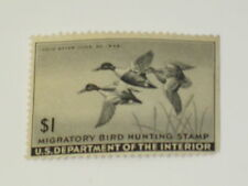 US Stamps RW 12 Federal Duck Stamp 1945 Used