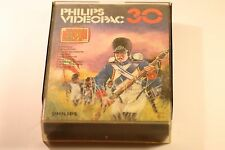 VINTAGE PHILIPS G7000 CONSOLE COMPUTER VIDEOPAC 30 BATTLEFIELD GAME 1981