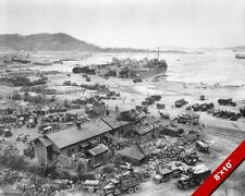 BATTLE OF INCHON RED BEACH UN NORTH KOREA KOREAN WAR ART REAL PHOTO CANVAS PRINT