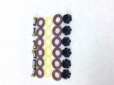 FUEL INJECTOR REPAIR KIT O-RINGS FILTERS PINTEL CAPS 1987-1991 BMW 2.5L L6