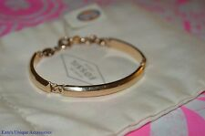 Fossil Brand Stainless Steel Three Piece Rose Goldtone Link Bracelet Bangle NWT