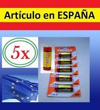 PACK 5x pilas 12V 23A A23 23AE MN21 LRV08 L1028 CA20 V23GA 3LR50 bateria llave