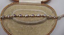 Una FAVOLOSA tanazite & Set braccialetto di diamanti in oro giallo 14ct