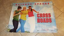 Cross Roads movie poster Britney Spears poster - 30 x 40 inches