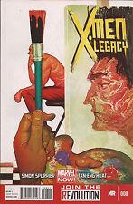 X-Men Legacy #8 Marvel Legion Blindfold Captain Ultra Spurrier Tan Eng Huat VF