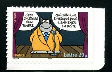 STAMP / TIMBRE FRANCE  N° 3832 ** SOURIRES / LE CHAT / PHILIPPE GELUCK