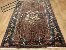 OLD WOOL HAND MADE PERSIAN ORIENTAL FLORAL RUNNER AREA RUG CARPET 212 X 125CM