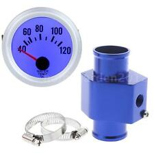 Water Temperature Joint Pipe Sensor Gauge Radiator Hose Adapter 36mm Blue N5Y4