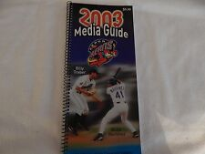 2003 Akron Aeros Media Guide! NEW! NEVER OPENED! RARE! ONLY COPY ON eBAY!!