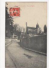 Taverny Rue de l'Eglise 1909 France Postcard 273a