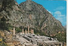 BF25024 delphi apollo s temple  greece  front/back image