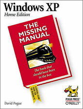 Windows XP Home Edition: The Missing Manual by David Pogue (Paperback, 2002)