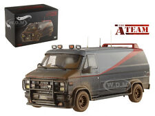"1983 GMC VANDURA CARGO VAN G SERIES ""THE A-TEAM"" MUDDY 1/43 BY HOTWHEELS BCT88"