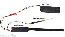 Micro Camera Spia HD Telecamera Nascosta Microspia CCTV P2P Antenna Esterna WiFi
