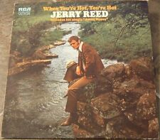 "Album By Jerry Reed, ""When You're Hot, You're Hot"" on R"