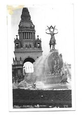 1915 Pan Pacific Expo PPIE Real Photo Postcard ~ Fountain of Energy No. 20