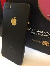 iPhone 5s Customised uniquely to iPhone 6 Mini | Black-Gold | 32GB | Unlocked