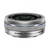 NEW OLYMPUS M.ZUIKO Digital ED 14-42mm f3.5-5.6 EZ Lens -silver +UV Filter