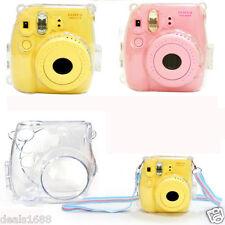 De Lujo Plástico Duro Funda Cristal Transparente Para Fujifilm Instax Mini 8