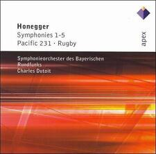 Honegger: Symphonies 1-5; Pacific 231; Rugby, New Music