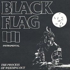 BLACK FLAG The Process of Weeding Out CD SST gone greg ginn bill stevenson kira