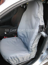 FORD FIESTA  CAR SEAT COVERS WATERPROOF GREY TWO FRONTS CSC301