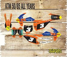 KTM SX 50 65 FULL MOTOCROSS GRAPHICS KIT-DECALS-STICKERS-MX-ALL YEARS