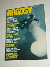 Vintage ARGOSY Men's Service Magasine Vol 374 #1 January 1972