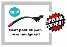 """Raleigh Clip on Seat Post Rear Mudguard Universal 26"""" to 28"""" Wheel MTB AMG412"""