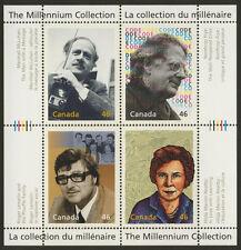 Canada 1829 MNH Marshall McLuhan, Northrup Frye, Roger Lemelin, Neatby