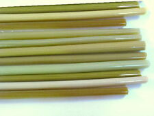 1lb Devardi Glass Rods Lampwork COE 104, Mixed Ivories