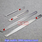 4pcs Sline S Line S-line Door Sill Scuff Guards Plate Pedal For A4 A4L 2010-2014