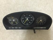 Mercedes w116 450 sel 450sel 6.9 instrument cluster guages clock speedometer