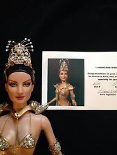 OOAK REPAINT TONNER DOLL PRINCESS AURA  from FLASH GORDON ANNIE NEELEY JEWELED