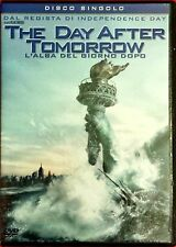 The Day After Tomorrow. L'alba del giorno dopo (2004) DVD