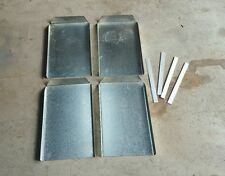 HEAVY DUTY UTE TRAY MUD GUARDS GALVANISED SHEET METAL GUARDS FREE POSTAGE