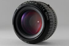 【B V.Good】 SMC PENTAX A 50mm f/1.4 MF Prime Lens for K Mount From JAPAN #2615