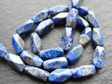 """CUT LAPIS NUGGETS, approx 5x12mm, 12.5"""", 24 beads"""