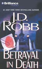 In Death: Betrayal in Death 12 by J. D. Robb (2012, CD, Abridged)