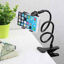 Universal Lazy Bed Desktop Mount Car Stand Holder For Cell Phone Long Arm