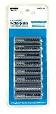 PRO827 LENMAR AA NiMH PRO Batteries (8 pk), 2700 mAh,Ideal for high-drain device
