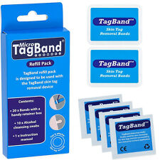 Micro tagband Refill Pack for skin tag removal Device