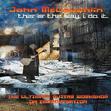 John Mclaughlin - This Is The Way I Do It 3-DVD SET NEW instructional