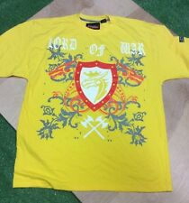 Johnny Blaze New York City Lord Of War Shirt Size 2xl Color Yellow 100% Cotton
