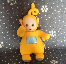 "ORIGINAL PLAYSKOOL TALKING LALA TELETUBBIE 14"" TALL SOFT PLUSH TOY"