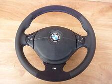 Lederlenkrad BMW E34 E36 E39 mit Airbag NEU LEDERRBEZUG mit ALCANTARA mult.4